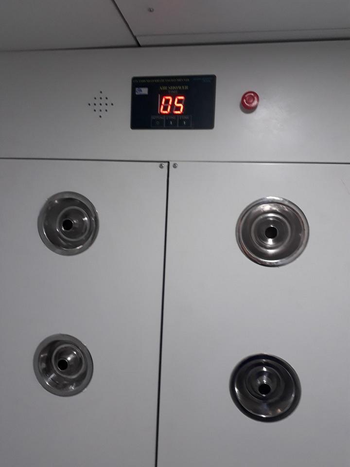 sản xuất Air Shower chất lượng