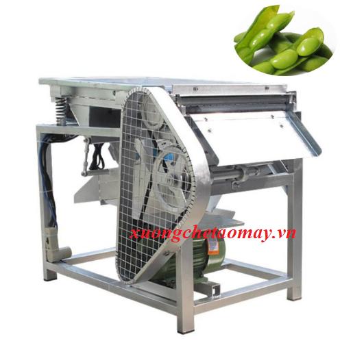 máy bóc tách vỏ ngoài các loại đậu