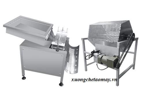 máy bóc vỏ trứng công nghiệp