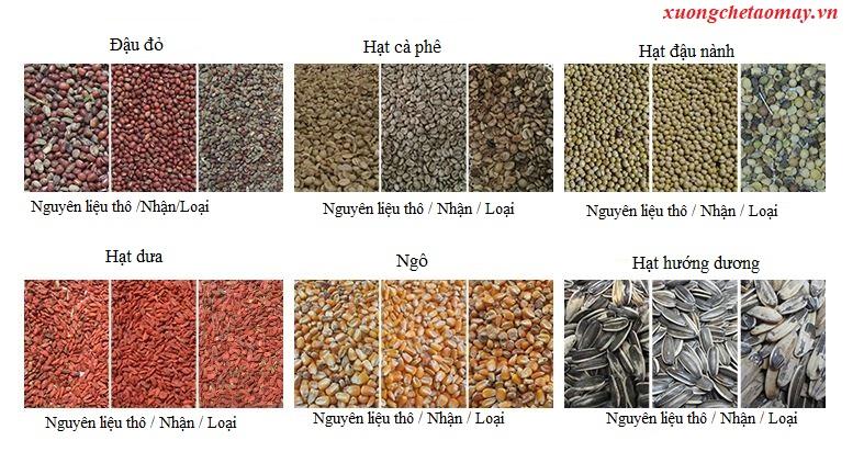 phân chia loại màu nông sản