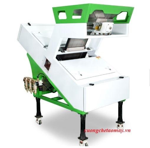 máy phân loại màu gạo công nghiệp