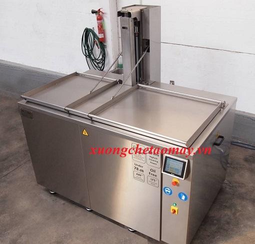 máy rửa thủy sản công nghiệp
