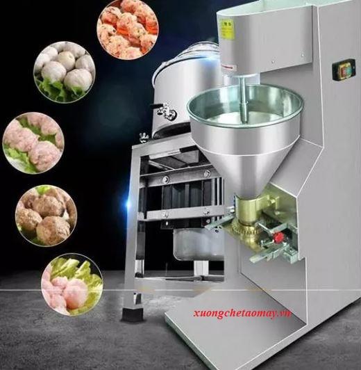 máy vò viên thịt cá công nghiệp