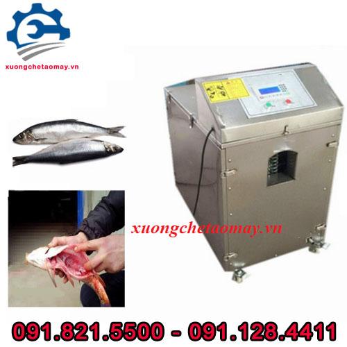 máy mổ ruột cá