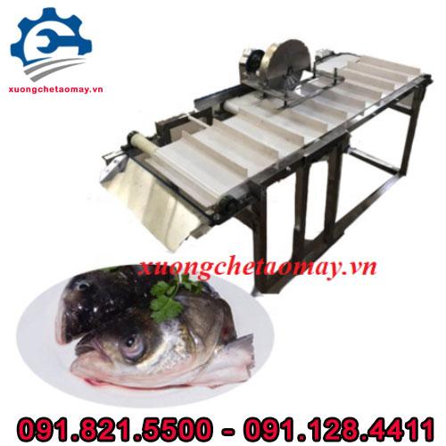 máy cắt đầu cá