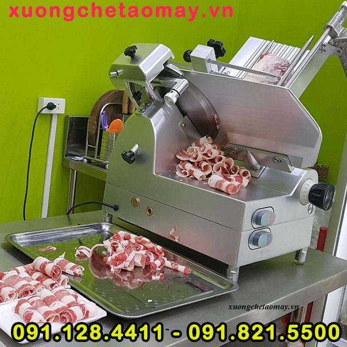 Máy cắt thịt đông lạnh
