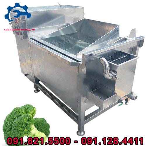 máy rửa thực phẩm sục khí