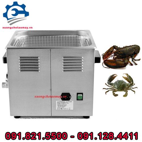 máy rửa hải sản công nghiệp