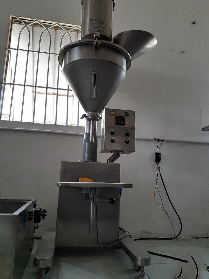 máy chiết rót định lượng bột