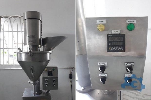máy chiết rót định lượng bột size nhỏ
